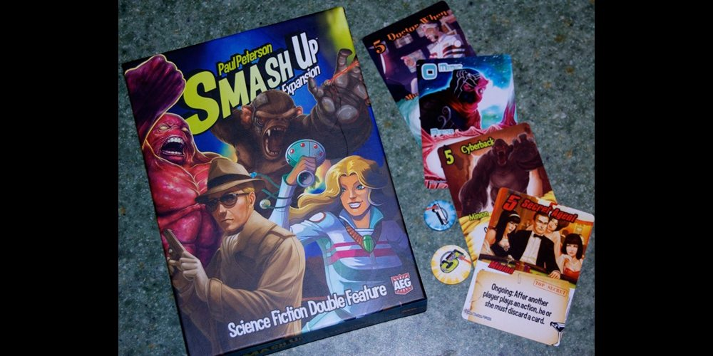 Smash Up Sci Fi Expansion