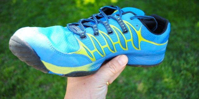 Merrell All Out Fuse barefoot style trail runners