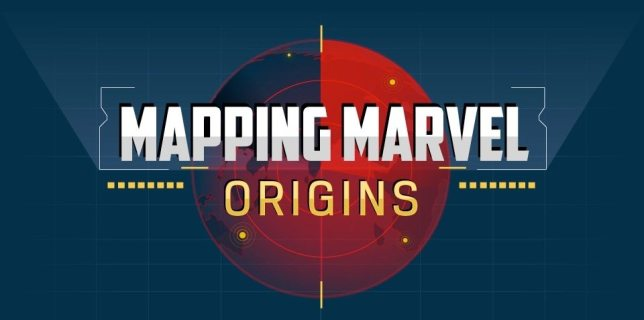 Mapping Marvel Origins