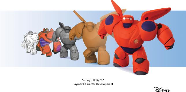 Big Hero 6 Character Desgin