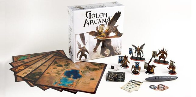 Digitally-Enhanced Boardgames Have Arrived and <cite>Golem Arcana</cite> Is a Winner