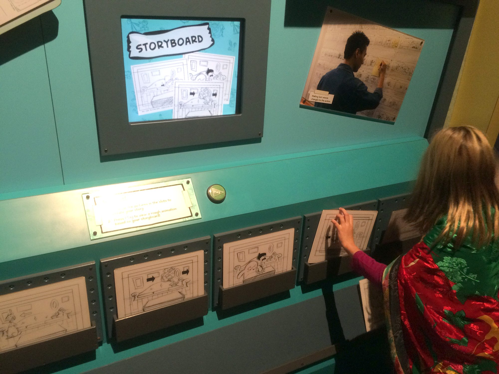 OMSI Animation storyboard
