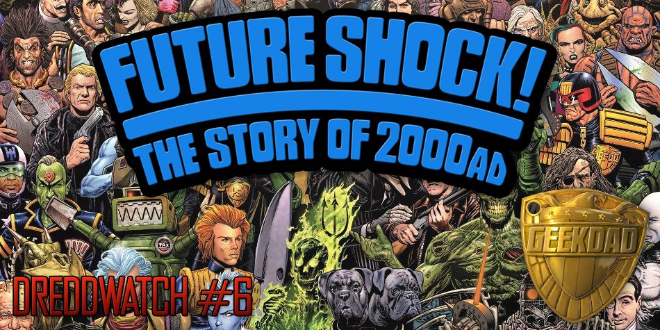 Futureshock - The Story of 2000AD, image courtesy Stanton Media/Rebillion
