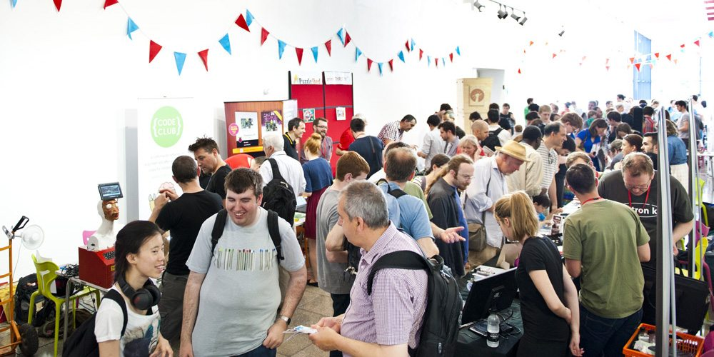 London's Mini Maker Faire at Elephant and Castle