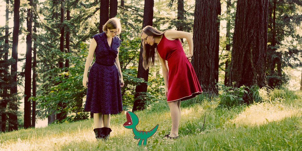 The Doubleclicks Velociraptor