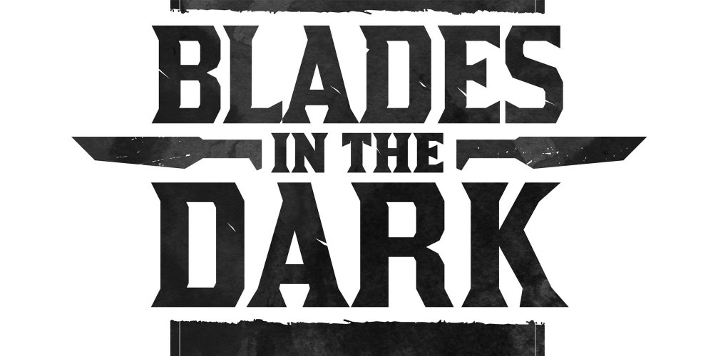 "The Logo for the RPG ""Blades in the Dark"""