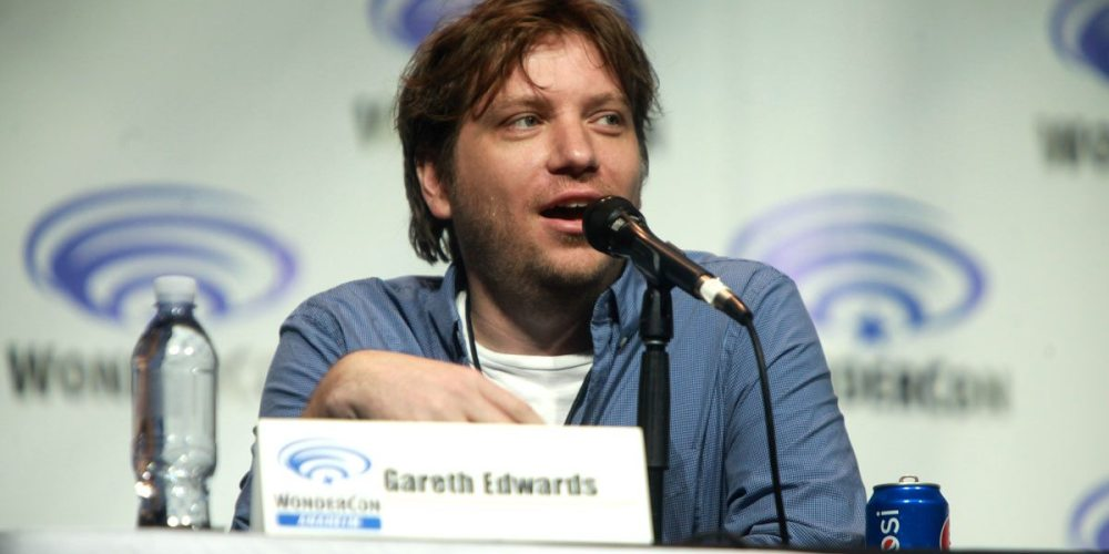 Director Gareth Edwards at Wondercon. Image courtesy Wikimedia.org.