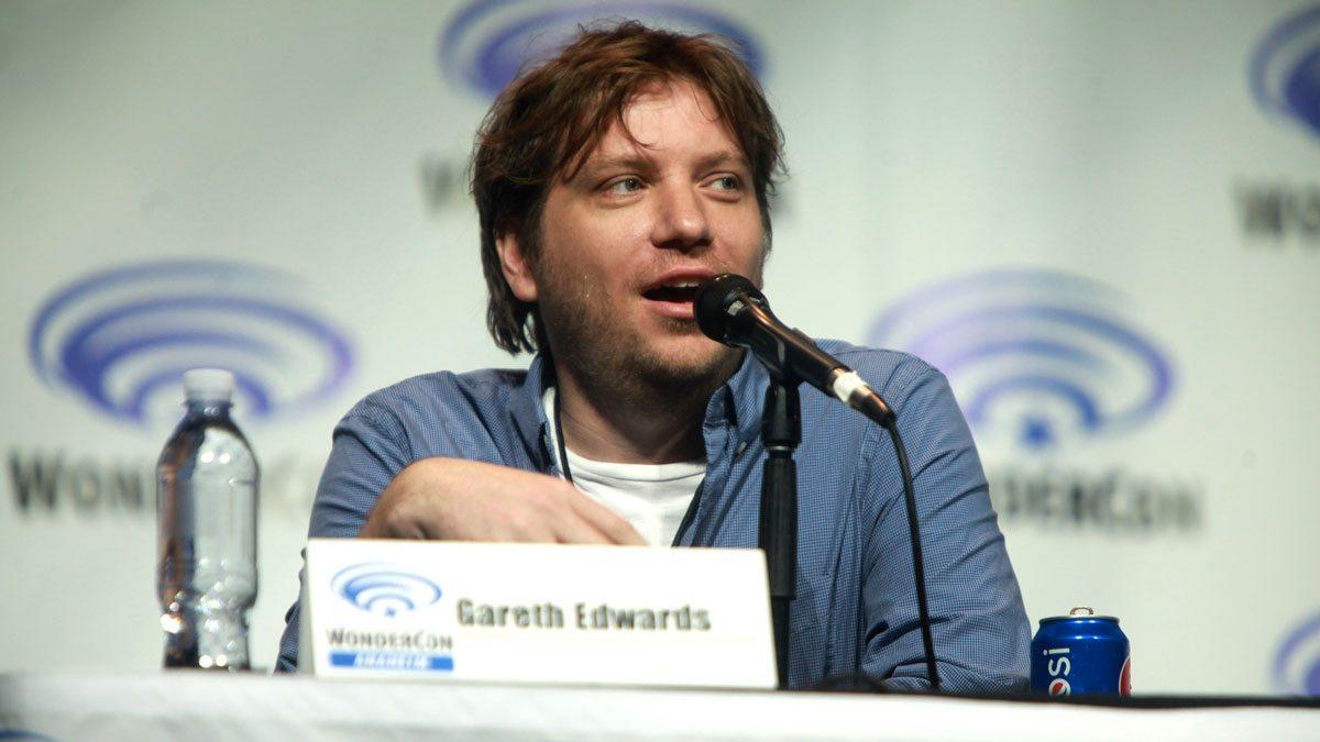 Director Gareth Edwards at Wondercon. Image courtesy Wikimedia.org.