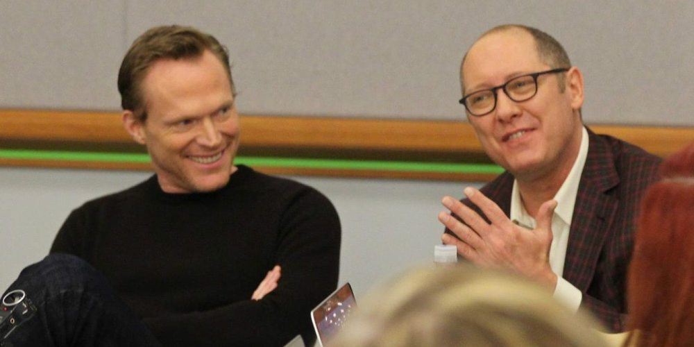 Paul Bettany (l) and James Spader - Photo: Jana Seitzer / MerlotMommy.com