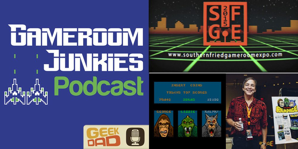 Gameroom Junkies Podcast #52 - Brian Colin, & Rampage