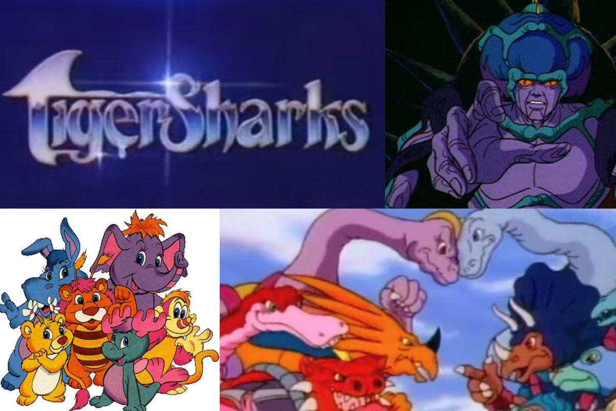 '80s Cartoons Tigersharks