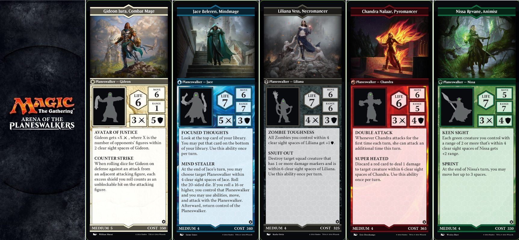 'Magic: The Gathering Arena of the Planeswalkers' Now ... Planeswalker Arena Custom