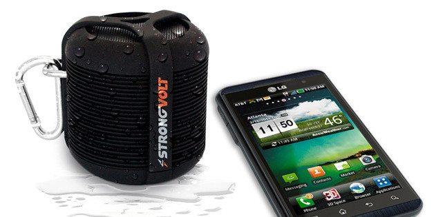 Rage Water-Resistant Bluetooth Speaker