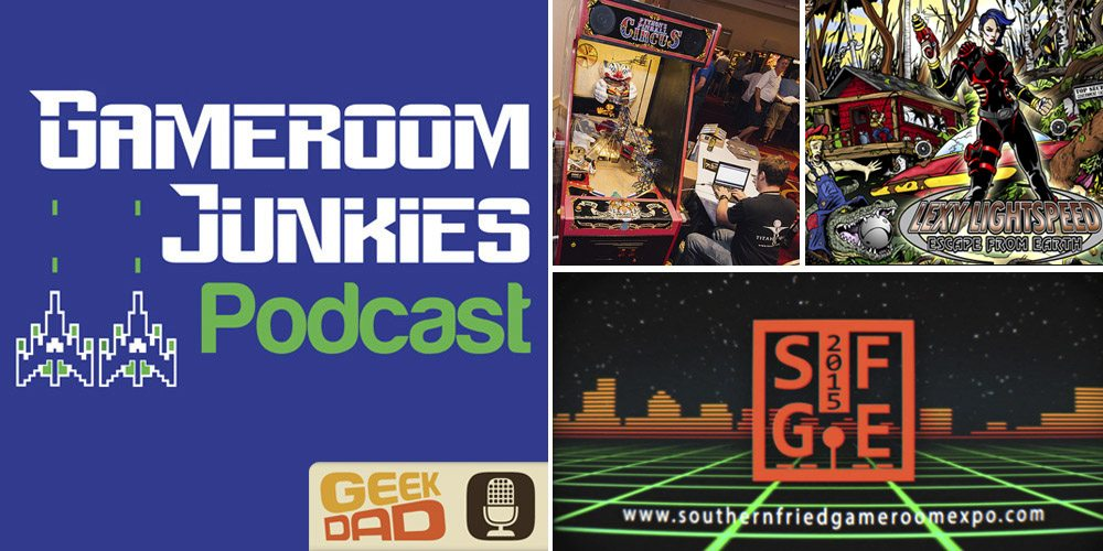 Gameroom Junkies Podcast Episode 54