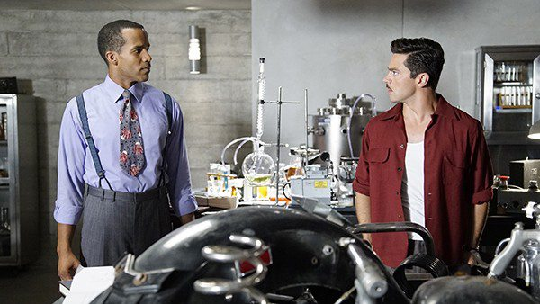 Howard and Wilkes, sciencing up the place. Image via ABC/Disney/Marvel Entertainment