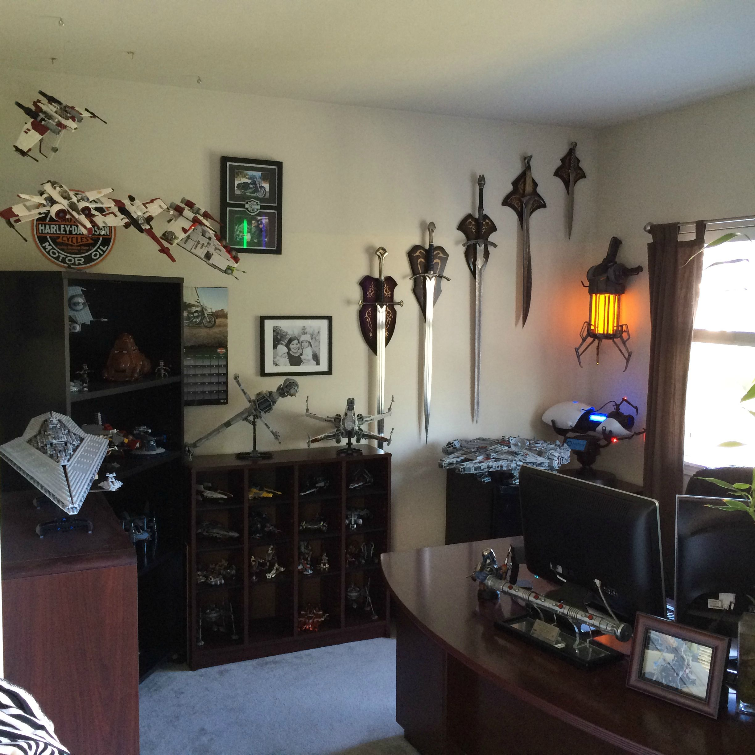 Geeky Home Decor Star Wars Room For The Man Who Grew Up Geeky Geek Decor