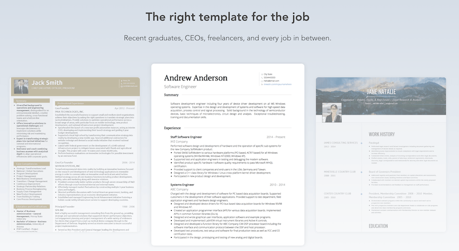 best devops resume templates
