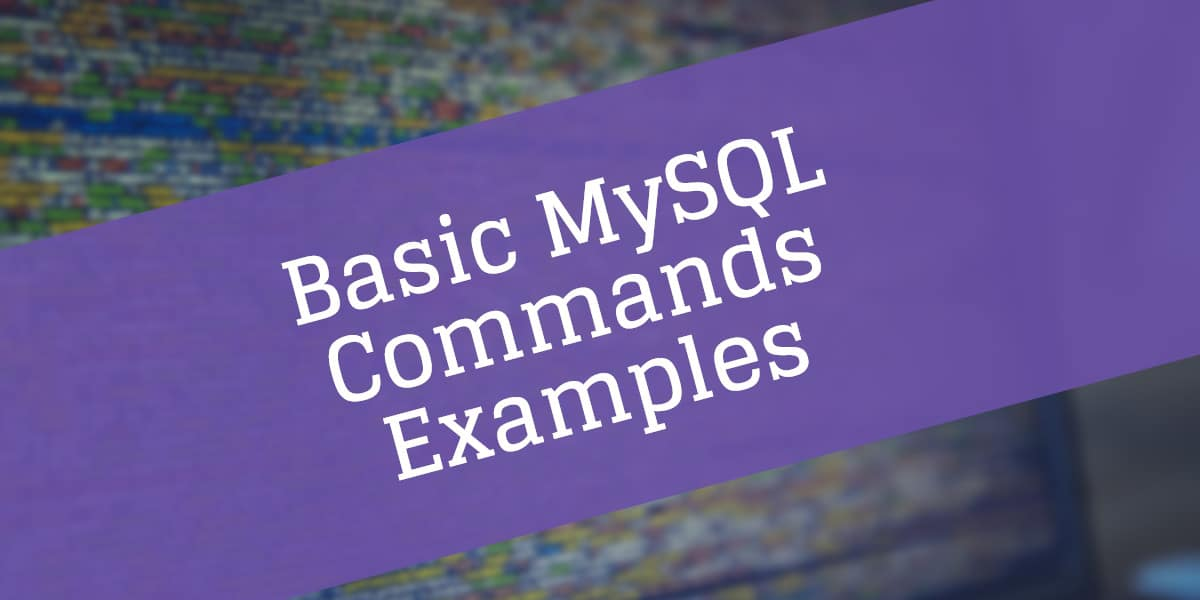 Port Open Checker How To Install And Basic Mysql Command Examples