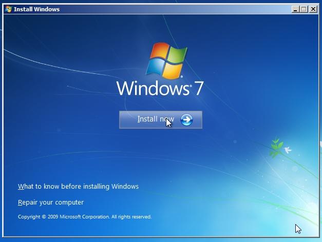 Worry-free Windows 7 installation Geekgirl\u0027s Plain English Computing - windows repair install