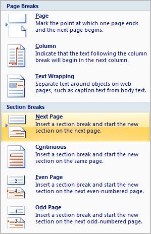Omitting page numbers in Microsoft Word Geekgirl\u0027s Plain English