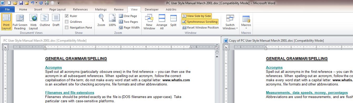 Display each Word document in its own window Geekgirl\u0027s Plain
