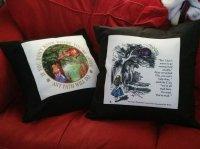 Alice in Wonderland Pillows  Geek Goth Grotesquerie