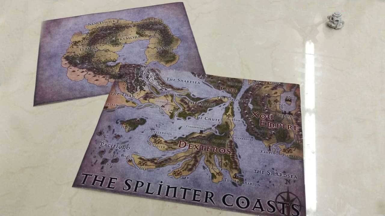 Printing Canvas Custom Game Cloth Map Rpg Printing Service
