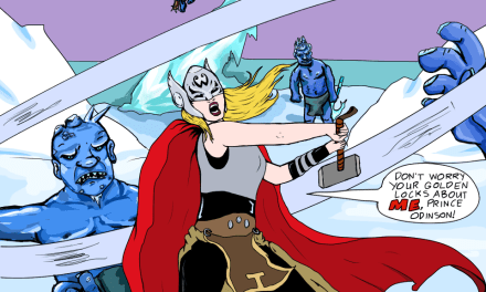 Let's Examine Thor #5- The F-Word and Her Identity