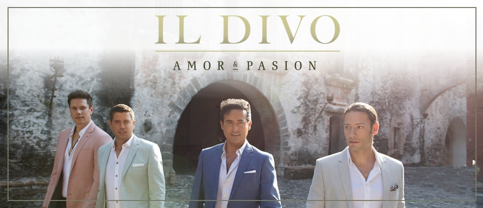 Cd review il divo amor pasion 2015 - Album il divo ...