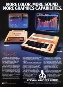 Old Atari Personal Computer Ad - Atari 800