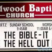 Read the bible - It will scare the hell out of you.