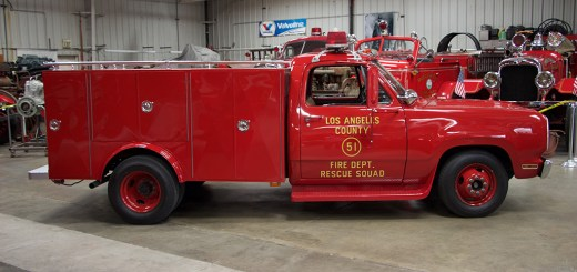 "Squad 51's rescue truck, from ""Emergency!""."