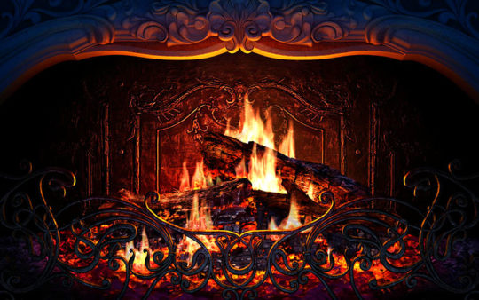 Screensaver Camino Virtuale Animato Fireplace 3d Geekoo It Web Software Download And App - Fuoco Caminetto Virtuale