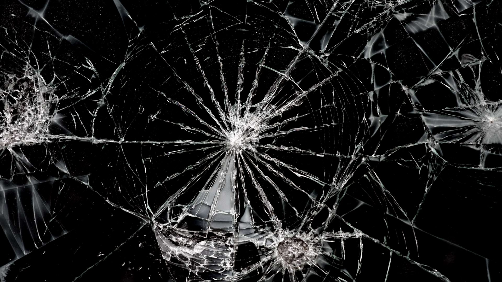 Dark Wallpapers For Iphone X Cracked Desktop Screen Prank
