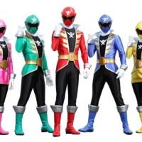 Novo Power Rangers terá todos os Power Rangers