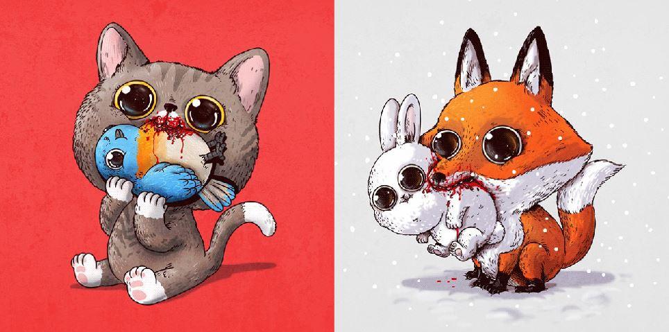 Cute Frappuccino Wallpaper S 233 Rie De Imagens Transforma Predadores Em Animais Super