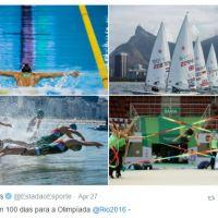 Twitter passa a catalogar Moments dos Jogos Olímpicos Rio 2016