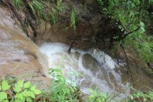 In a lot of places where creeks or spillovers redirected due to excess water, erosion has been a problem.