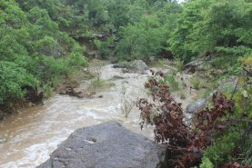 This is usually one of the small creeks!