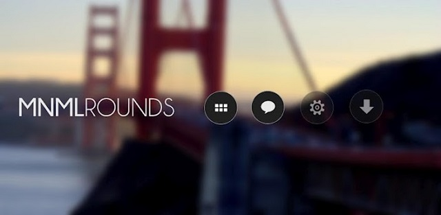 mnmlrounds android icons