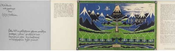 This 1st edition 1st impression sold for GBP 48000 ($78 816).