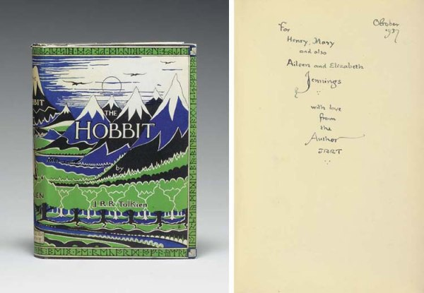 Another 1st edition 1st impression sold on auction at Christies in June 2005 for $78 000