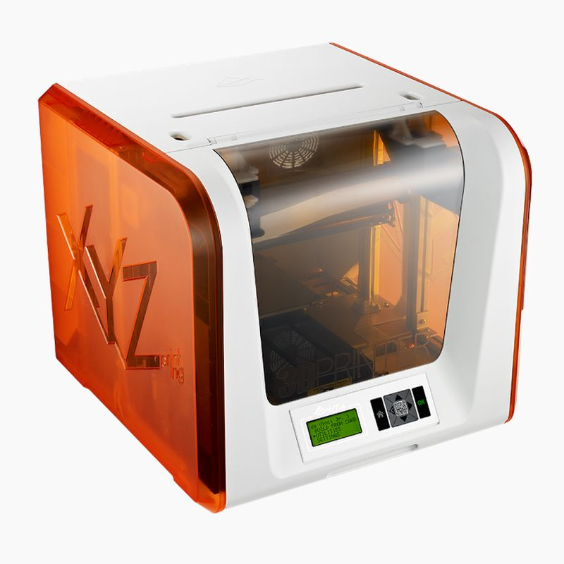 The XYZ Da Vinci Junior PLA 3D printer is a GeekShizzle Must Have