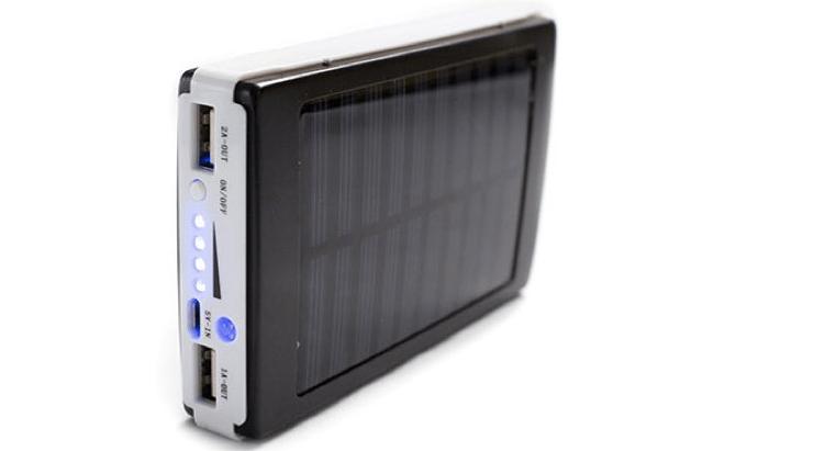 Go Green Solar Power Bank