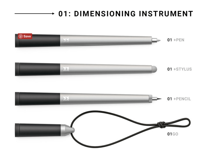 01: World's First Dimensioning Instrument