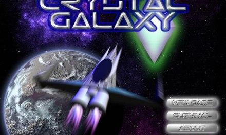 Crystal Galaxy: Juego hecho en html5
