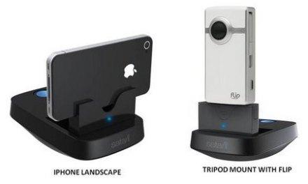 Satarii, base para iPhone, móvil o mini vídeo cámara que te sigue cuando te mueves [Vídeo]