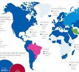 Mapa mundial de las redes sociales [Infografía]
