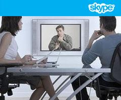 Consejos para entrevistas de trabajo vía Skype