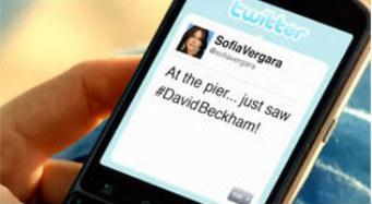 Sofía Vergara y David Beckham muestran el poder comercial de las redes sociales